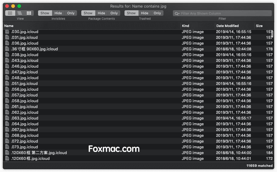 Find Any File功能强大的文件查找器