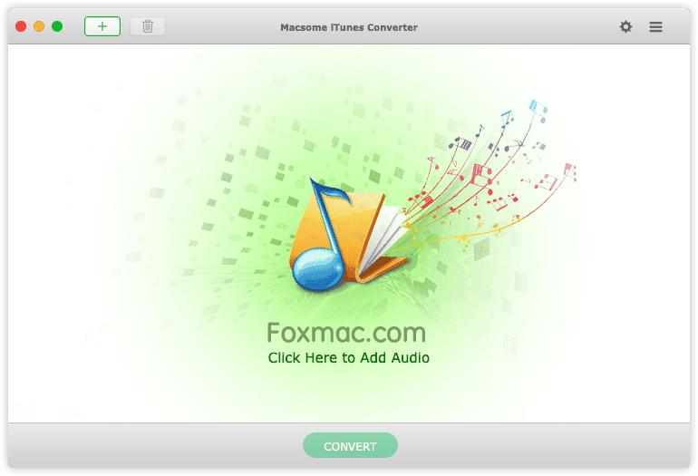 Macsome iTunes ConverterDRM移除和音乐转换工具