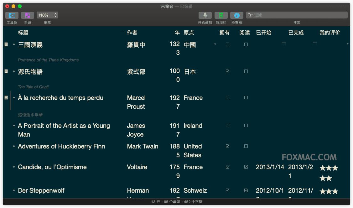 OmniOutLiner Pro 非常强大的知识大纲管理神器