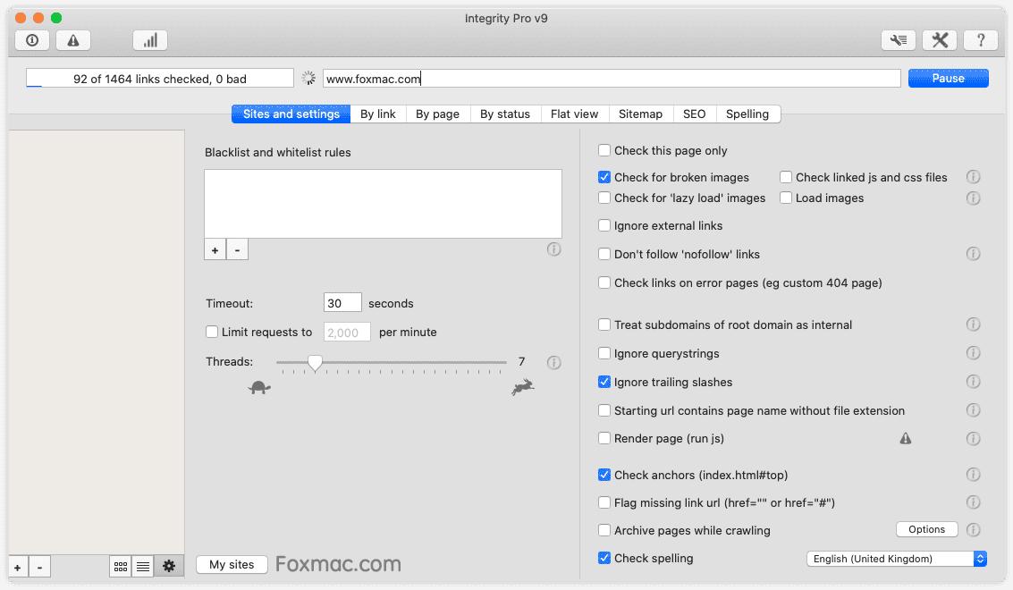Integrity Pro 9.6.1网站死链清理及优化工具