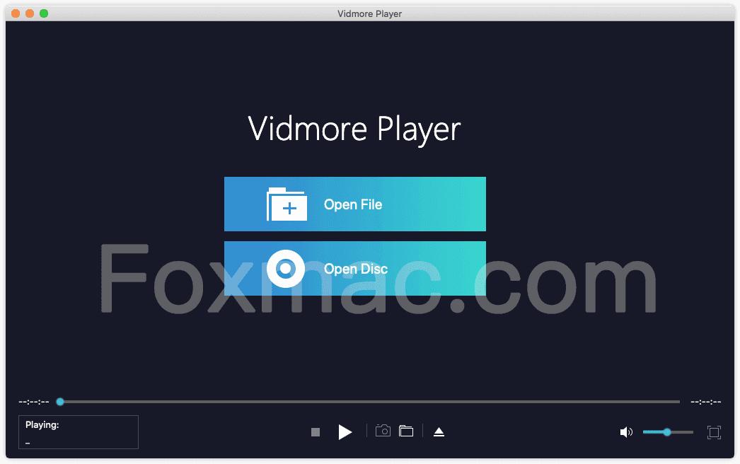 Vidmore Player - 好用的4K蓝光播放软件