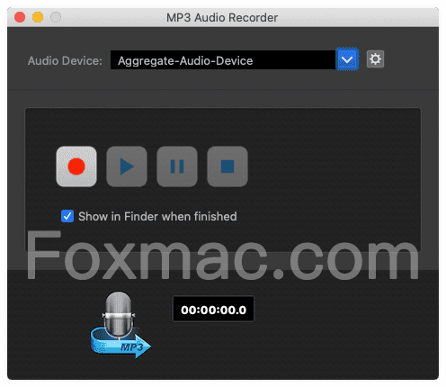 MP3 Audio Recorder 3.0.0 破解版-简单实用的录音软件