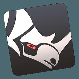 Rhinoceros 6.24 (20079) for Mac中文版-功能最齐全的三维建模软件