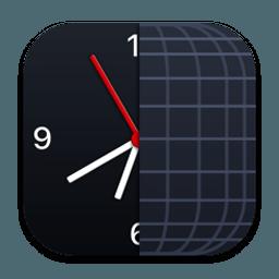 The Clock 4.2 for Mac中文版-菜单栏上的世界时钟日历软件