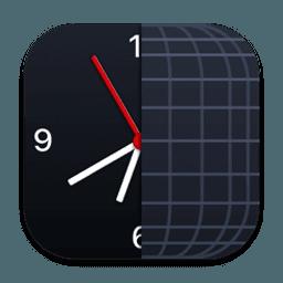 The Clock 中文版-菜单栏上的世界时钟日历软件