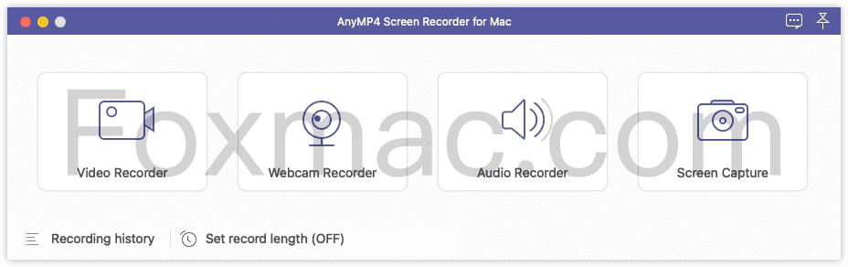 AnyMP4 Screen Recorder - 简单易用的屏幕录像软件
