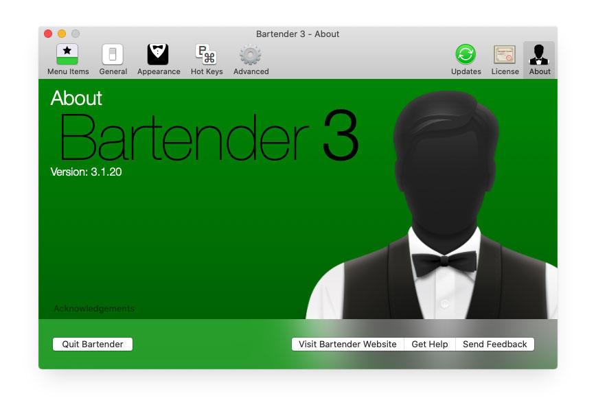 Bartender 4 4.0.28 破解版-MacOS菜单栏管理工具
