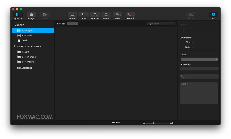 Capto 1.2.22 - 轻量级屏幕截图录像工具