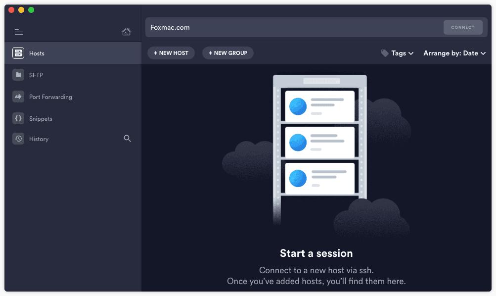 Termius跨平台优秀的SSH连接客户端