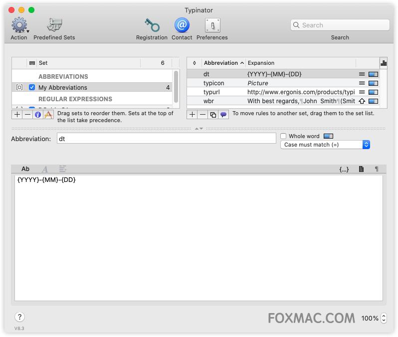 Typinator 强大的文本快速输入工具